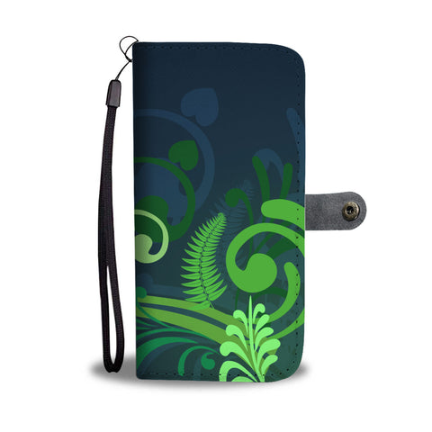 New Zealand Fern Wallet Case | Special Custom Design