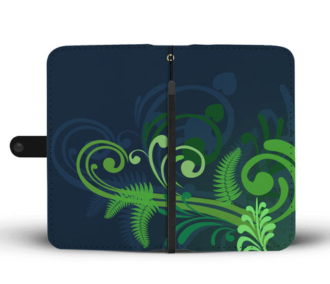 New Zealand Fern Wallet Case A9
