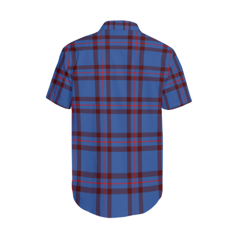Tartan Shirt - Elliot Clan Tartan Lapel Collar Shirt | 500 Scottish Tartans and 300 Clans