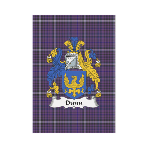 Dunn Tartan Flag Clan Badge K9 |Home Decor| 1sttheworld