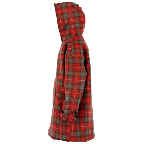 Fraser Weathered Snug Hoodie - Unisex Tartan Plaid Left