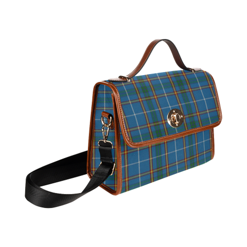 Bain Tartan Canvas Bag | Waterproof Bag | Scottish Bag
