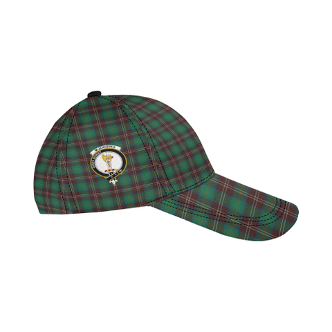 Chisholm Hunting Ancient Clan Badge Tartan Dad Cap - BN03
