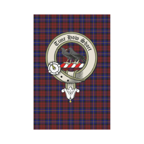 Aitken Tartan Flag Clan Badge K7