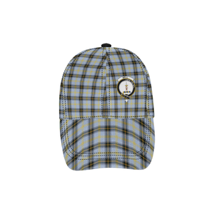 Bell of the Borders Clan Badge Tartan Dad Cap - BN03