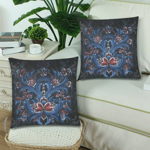 Norway cover- Rosemaling pillow cover NN2
