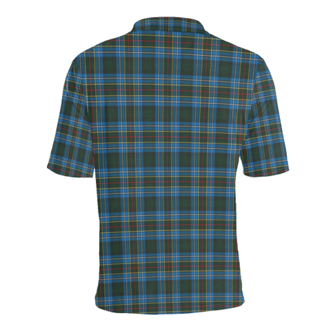 Image of Cockburn Modern  Tartan Polo Shirt HJ4