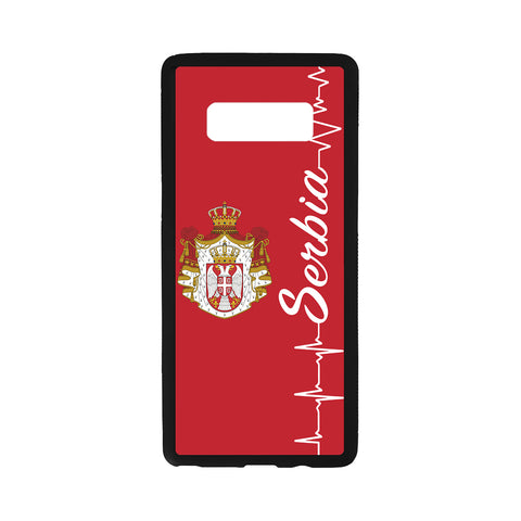 Image of Serbia Coat Of Arms Luminous Phone Case J2