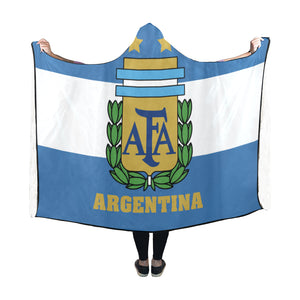 Argentina World Cup Hooded Blanket - BN03