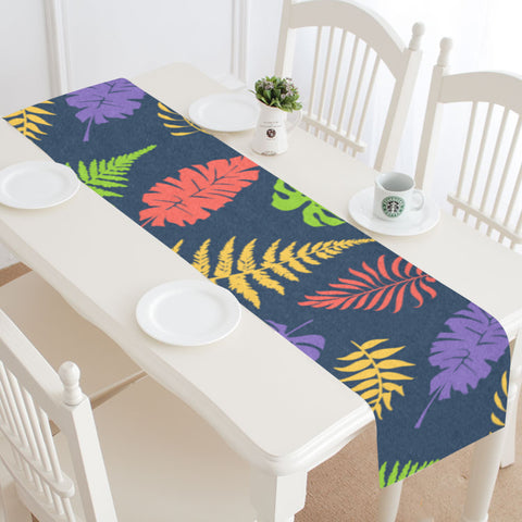New Zealand Table Runner - Silver Fern 07 A2