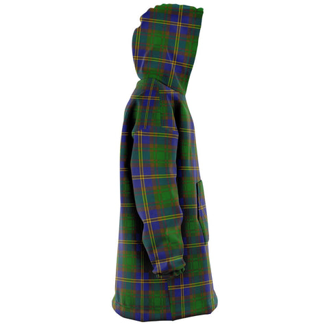 Strange of Balkaskie Snug Hoodie - Unisex Tartan Plaid Right