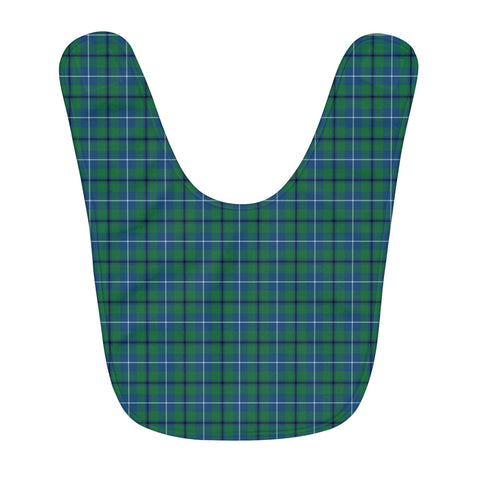 Douglas Ancient Fleece Baby Bib | Kids Scottish Clothing | Bib Garment