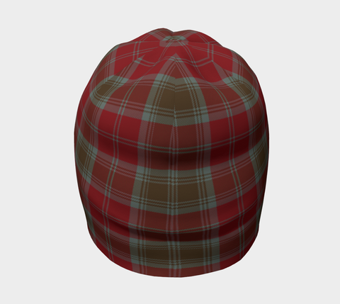 Image of Lindsay Weathered Tartan Clan Crest Beanie Hj4