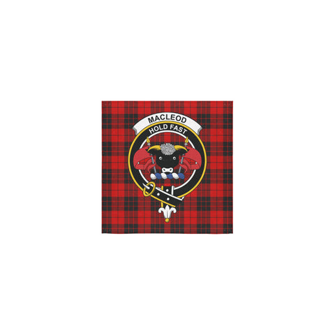 MacLeod of Raasay Tartan Towel Clan Badge | 1sttheworld.com