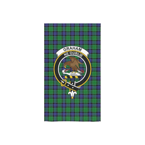 Graham of Menteith Modern Tartan Towel Clan Badge NN5