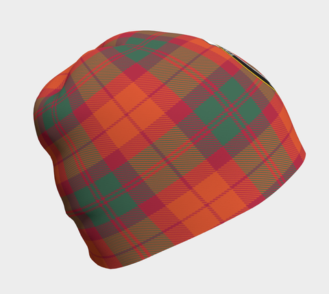 Image of MacNab Ancient Tartan Clan Crest Beanie