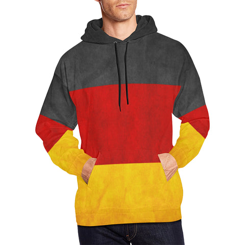 GERMANY 02 FLAG  ALL OVER PRINT HOODIE A1