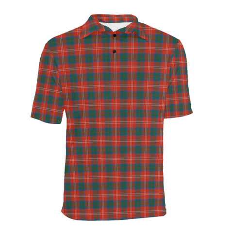 Chisholm Ancient  Tartan Polo Shirt HJ4