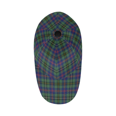 Image of Wood Modern Tartan Dad Cap - BN03