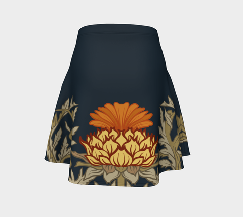 Image of Thistle Pattern 11 Flare Skirt | Special Custom Design