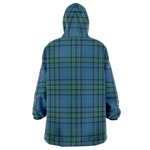 Matheson Hunting Ancient Snug Hoodie - Unisex Tartan Plaid Back