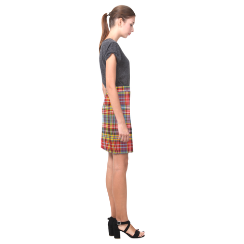 Image of Tartan Skirt - Ogilvie Of Airlie Ancient Fitted Skirt A9 |Women's Clothing| 1sttheworld
