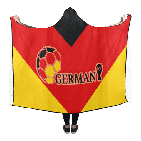 Germany World Cup Hooded Blanket - Bn03 | Love The World