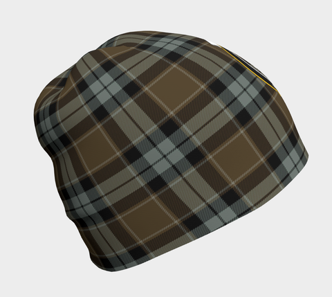 Graham of Menteith Weathered Tartan Clan Crest Beanie