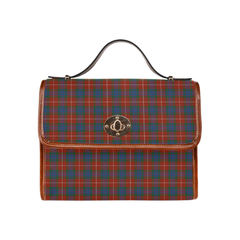 Fraser Ancient Tartan Canvas Bag | Waterproof Bag | Scottish Bag