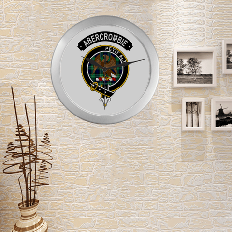 Image of Abercrombie (Or Abercromby) Clan Tartan Wall Clock A7