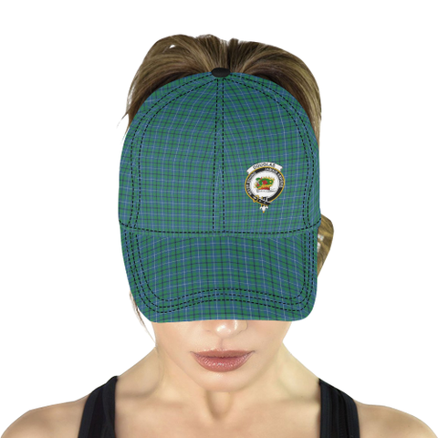 Douglas Ancient Clan Badge Tartan Dad Cap - BN03