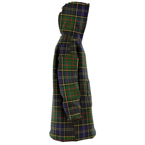 MacMillan Hunting Modern Snug Hoodie - Unisex Tartan Plaid Right