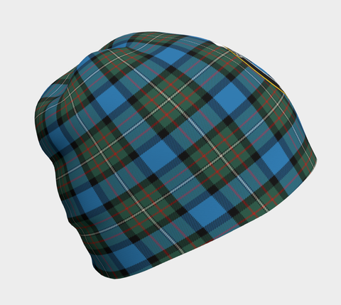 Fergusson Ancient Tartan Clan Crest Beanie