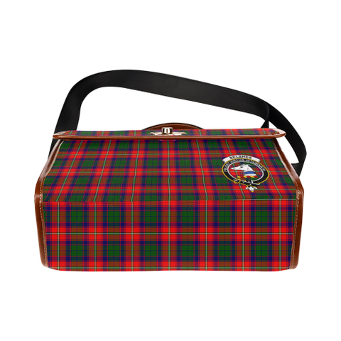 Tartan Canvas Bag - Belshes Clan | Waterproof Bag | Scottish Bag