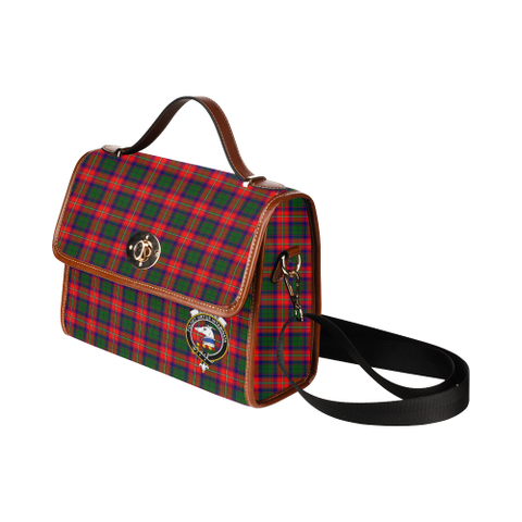 Image of Tartan Canvas Bag - Belshes Clan | Waterproof Bag | Scottish Bag