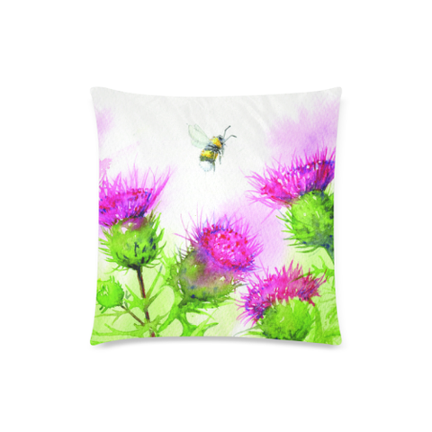Thistle 19 Zippered Pillow Cases A1 | 1sttheworld.com
