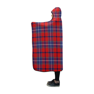 Wishart Dress Tartan Hooded Blanket - BN