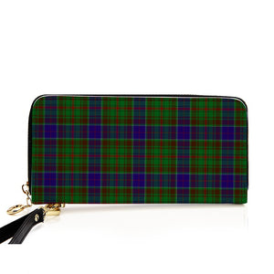 ADAM TARTAN ZIPPER WALLET HJ4