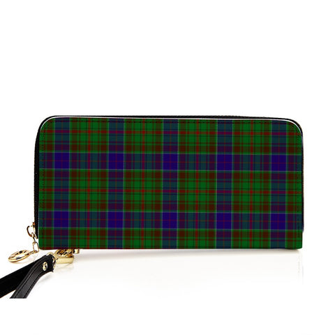 Image of ADAM TARTAN ZIPPER WALLET HJ4