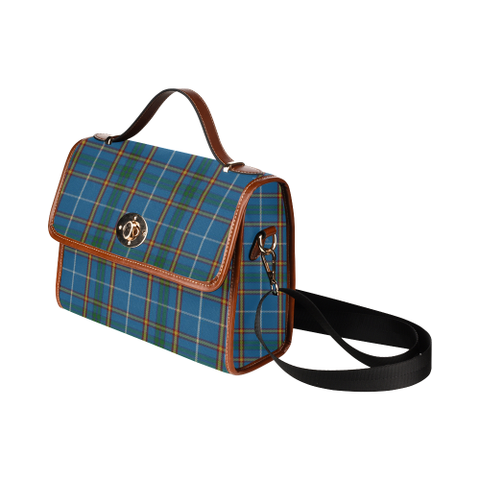 Image of Bain Tartan Canvas Bag | Waterproof Bag | Scottish Bag