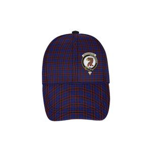 Wedderburn (Home Modern) Clan Badge Tartan Dad Cap - BN04