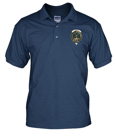 Keith Badge Men Tartan Polo Shirt | Over 300 Clans Tartan | Special Custom Design | Love Scotland