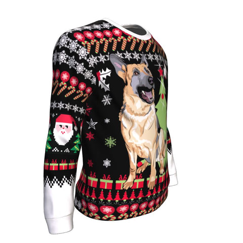 German Shepherd Christmas™ Sweatshirt 02 K5