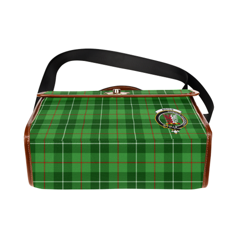 Image of Tartan Canvas Bag - Boyle Clan | Waterproof Bag | Scottish Bag
