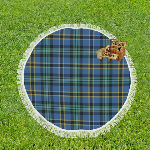 WEIR ANCIENT TARTAN BEACH BLANKET th8