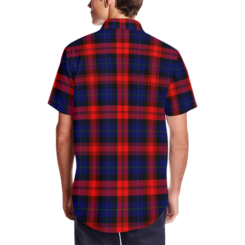 Tartan Shirt - MacLachlan Modern Tartan Lapel Collar Shirt | 500 Scottish Tartans and 300 Clans