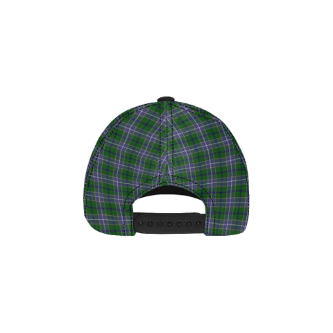 Wishart Hunting Modern Clan Badge Tartan Dad Cap - BN04