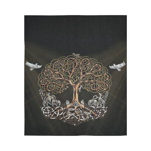 Viking Tapestry - Viking Tree Of Life Yggdrasil A7
