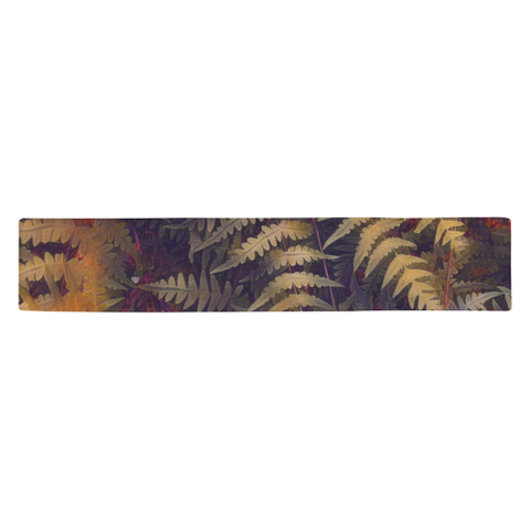 New Zealand Table Runner - Silver Fern 09 A2