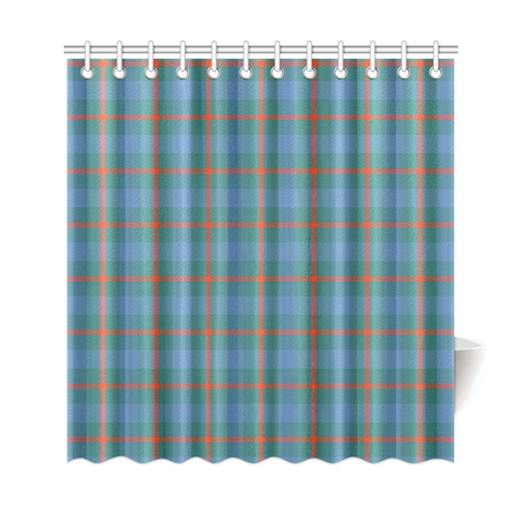 Tartan Shower Curtain - Agnew Ancient | Over 500 Tartans | Special Custom Design | Love Scotland